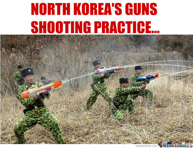 Meanwhile In North Korea...