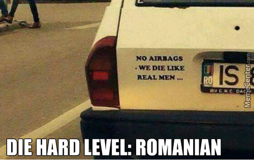 Meanwhile In Romania ...