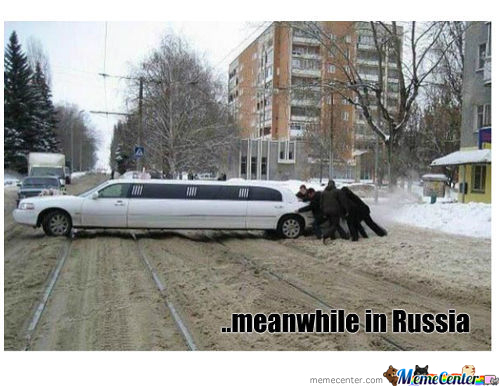 ..meanwhile In Russia