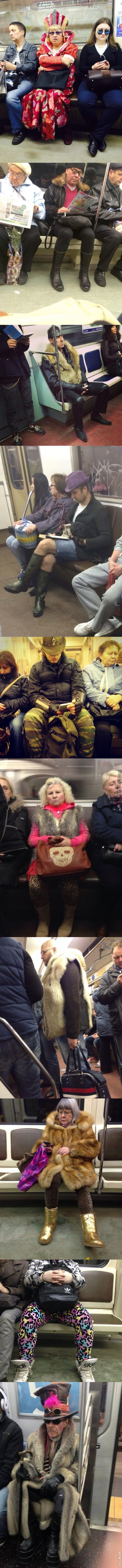Meanwhile In Russian Subway