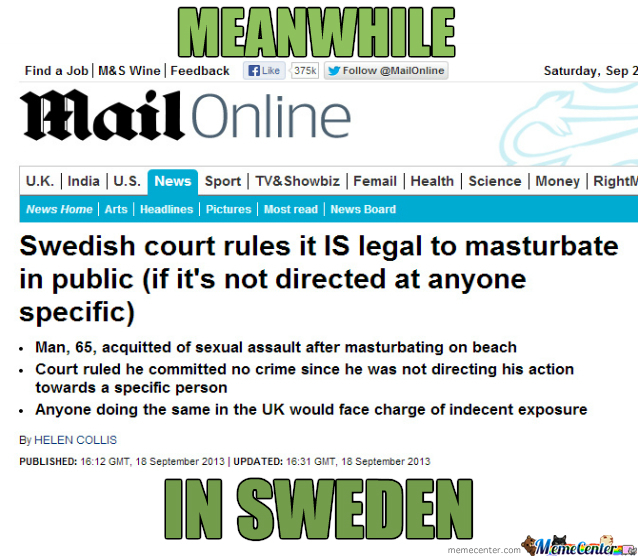 Meanwhile In Sweden