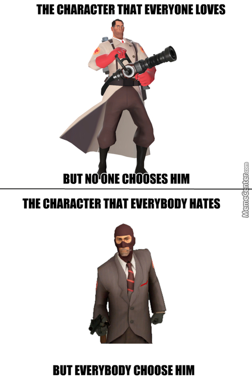 Meanwhile In Team Fortress 2