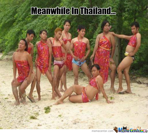 Meanwhile In Thailand.....