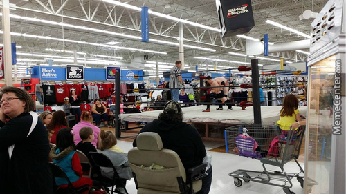 Meanwhile In The Walmart