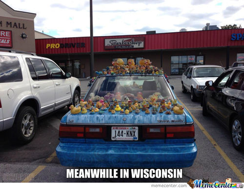 Meanwhile In Wisconsin...
