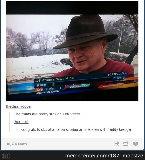 Meanwhile On Elm Street