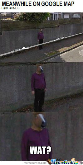 Meanwhile On Google Map