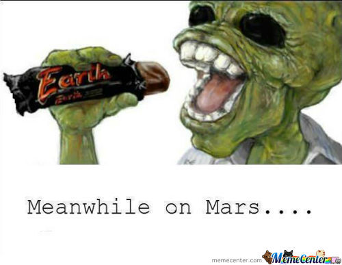 Meanwhile On Mars....