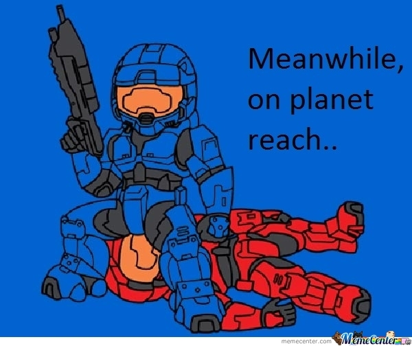 Meanwhile, On Planet Reach..