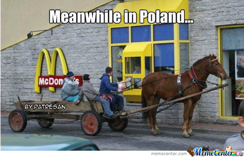 Meanwhille In Poland...