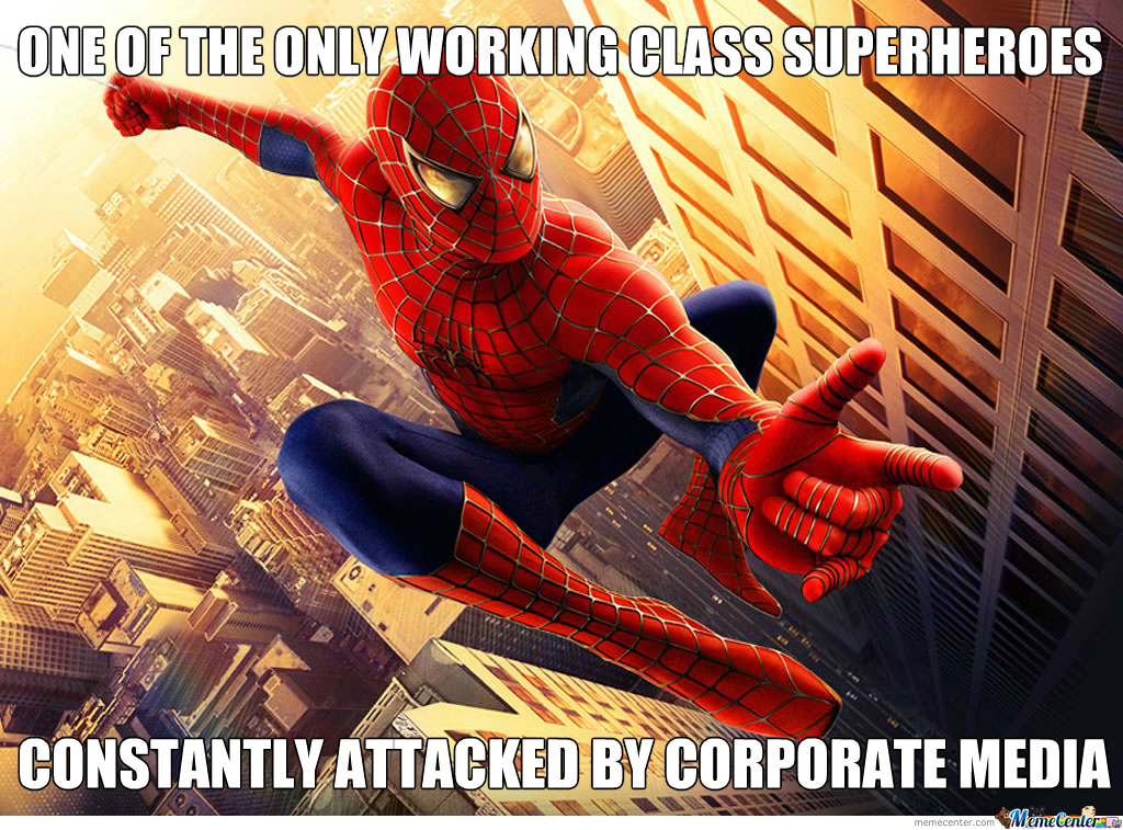 Media, Y U No Leave Spiderman Alone?!!