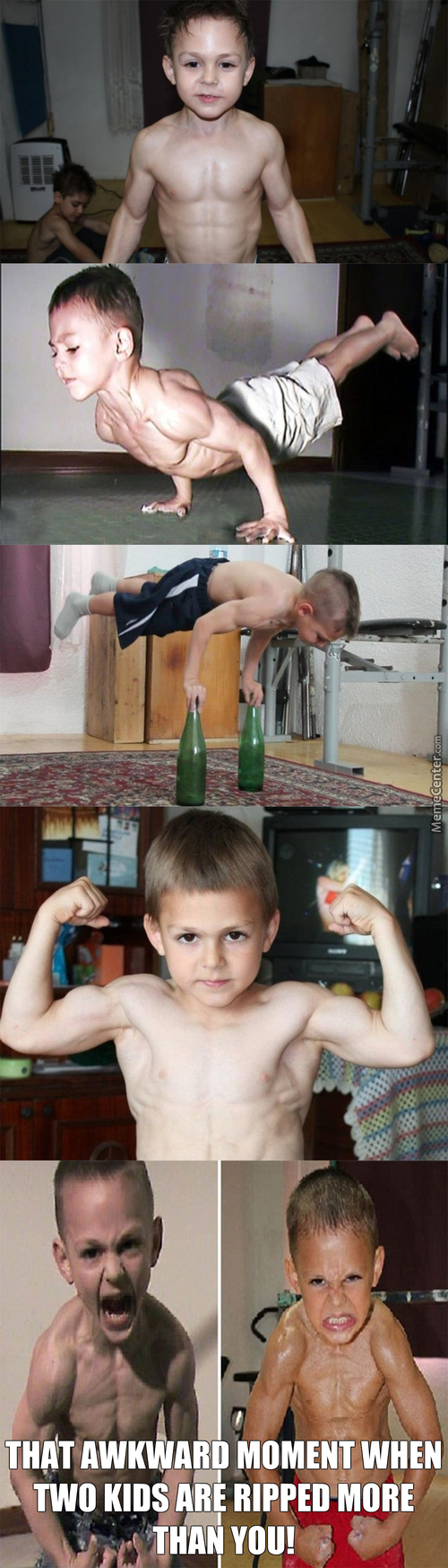 Meet Giuliano Stroe 9 Year Old And His Brother Claudiu Stroe 7 Year Old World Strongest Kids