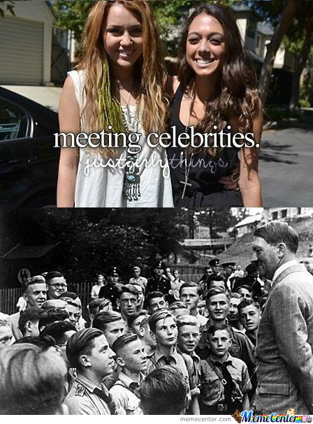 Meeting Celebrities
