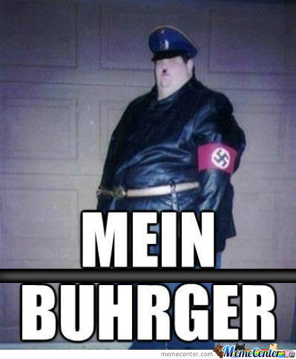 Mein Buhrger....