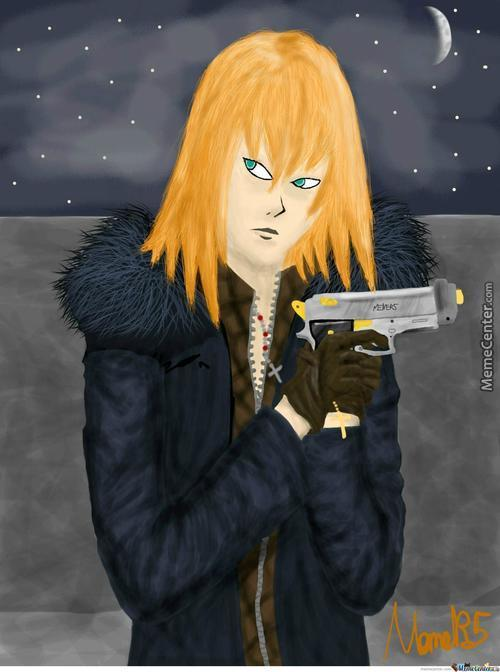 Mello, Drawn By Mouse, Great Way To Come Back To Drawing :)