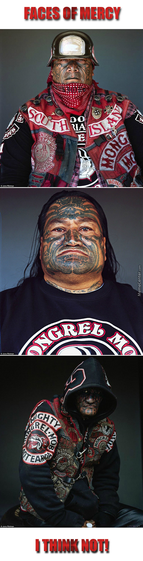 Members Of The Mighty Mongrel Mob, The Most Notorious Gang In New Zealand