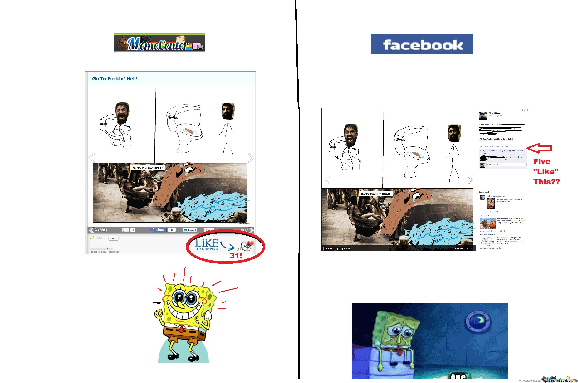 Memcenter Vs Facebook