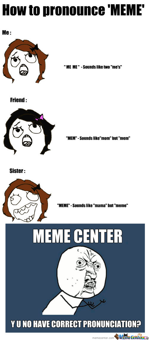 Meme Center - Y U No