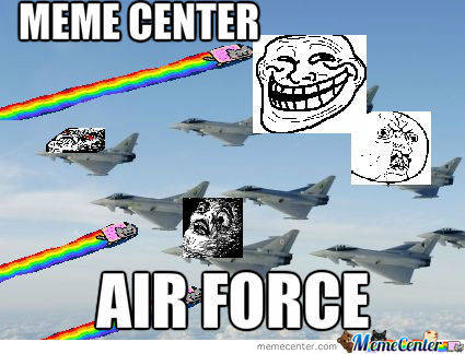 Meme Center Air Force