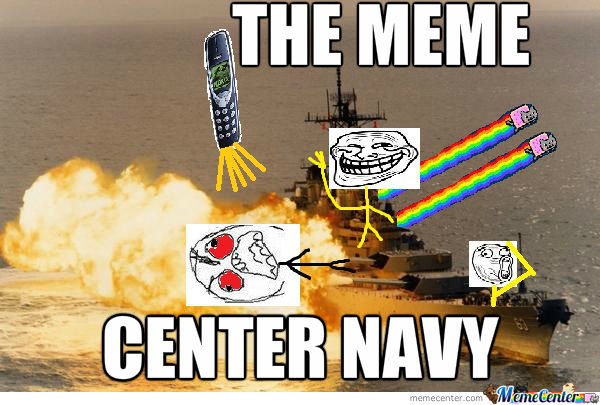 Meme Center Navys Flag Ship