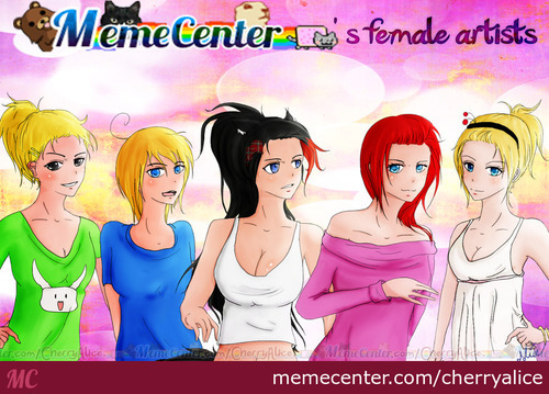 Memecenter's Girls!