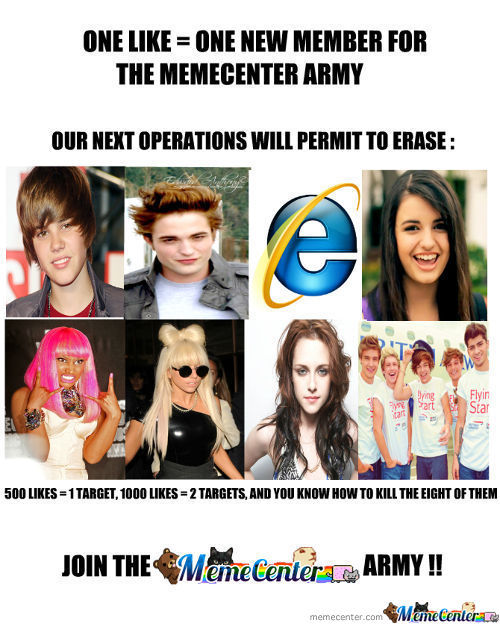 Memecenter Army