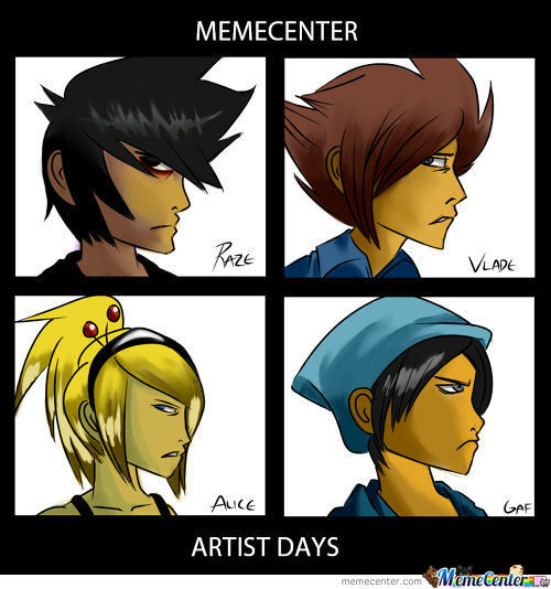 Memecenter, Artist Days
