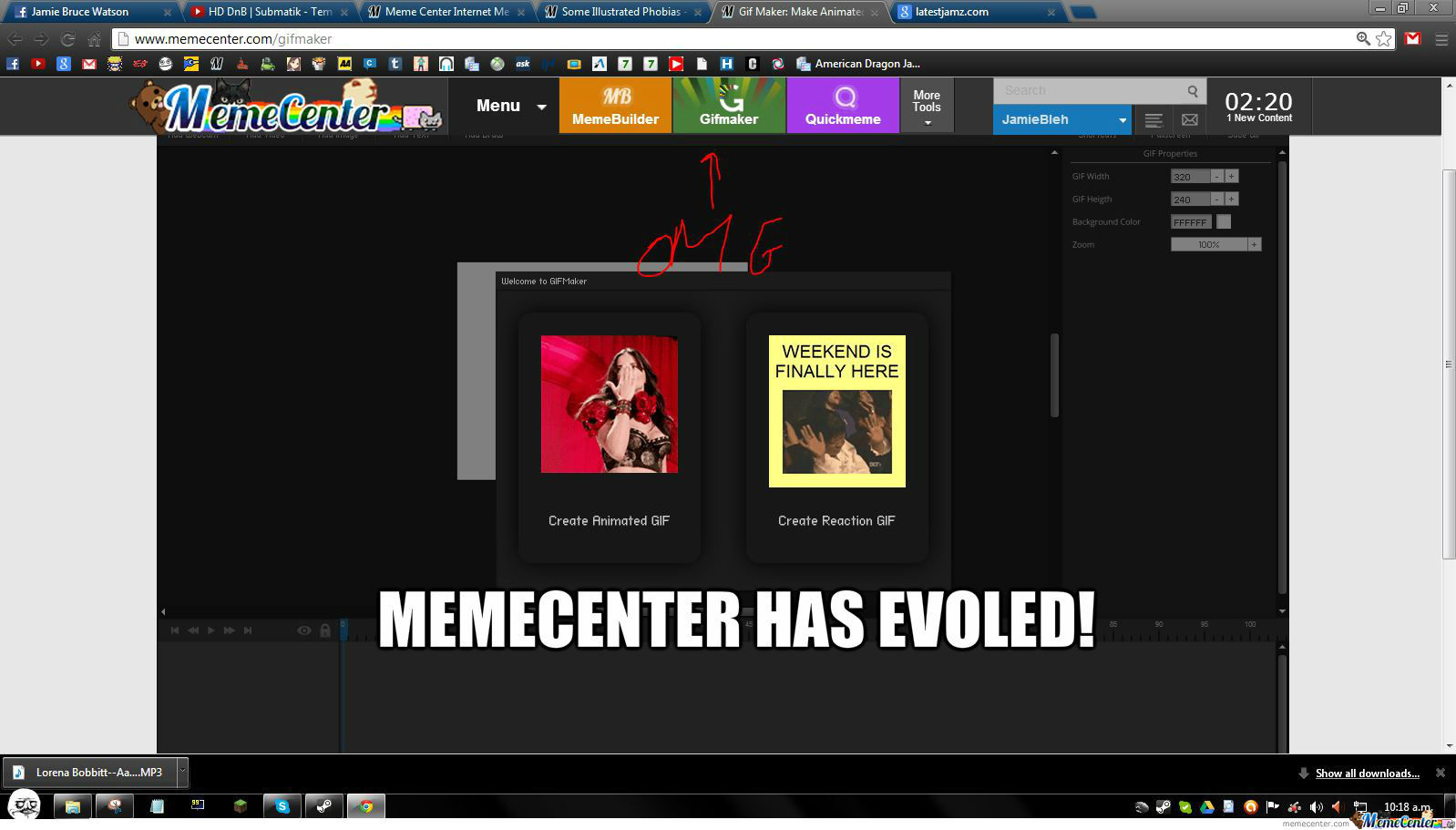 Memecenter Has Evoled :d