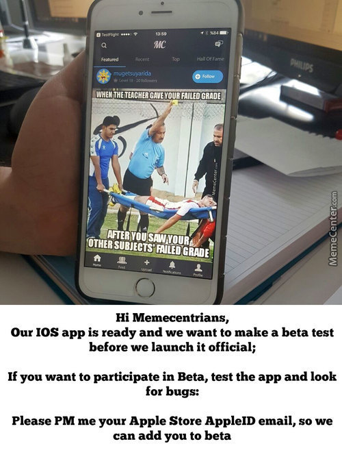 Memecenter Ios App, Looking For Beta Testers