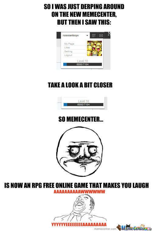 Memecenter=Rpg Game Now.