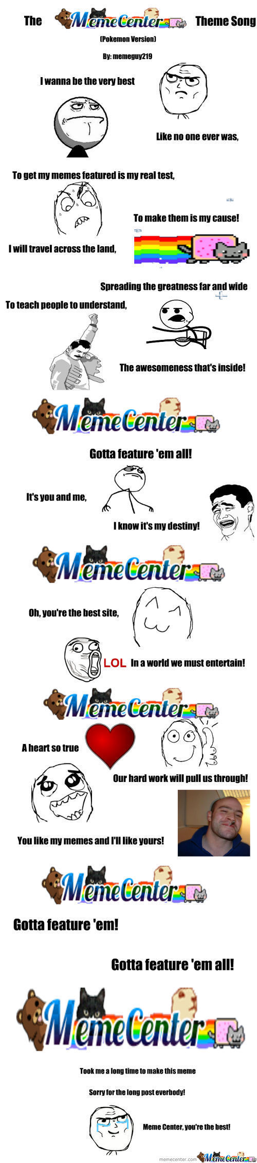 Memecenter Song