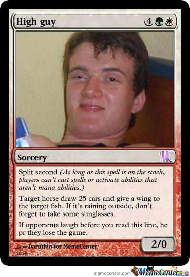 Memecenter The Gathering Card 2