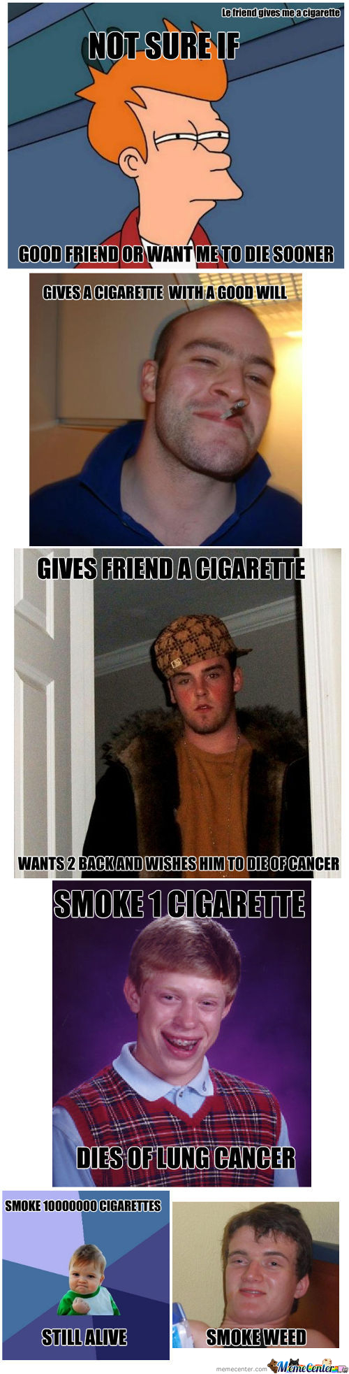Memes And Smoking