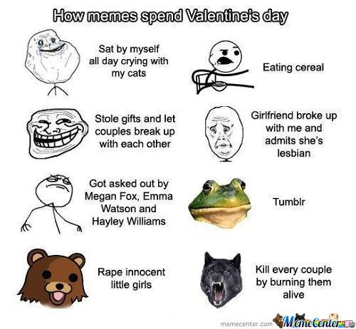 Memes On Valentine's Day