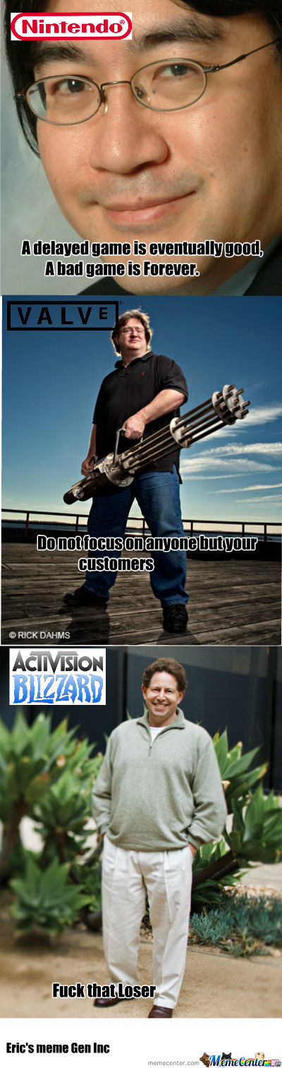 Memorable Sayings By Game Developers