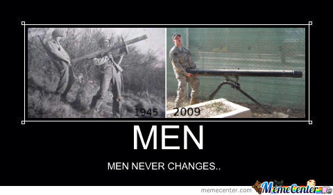 Men Never Changes
