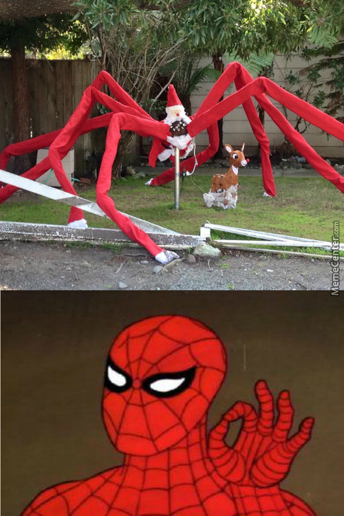 Merry Halloween, Spider-Man