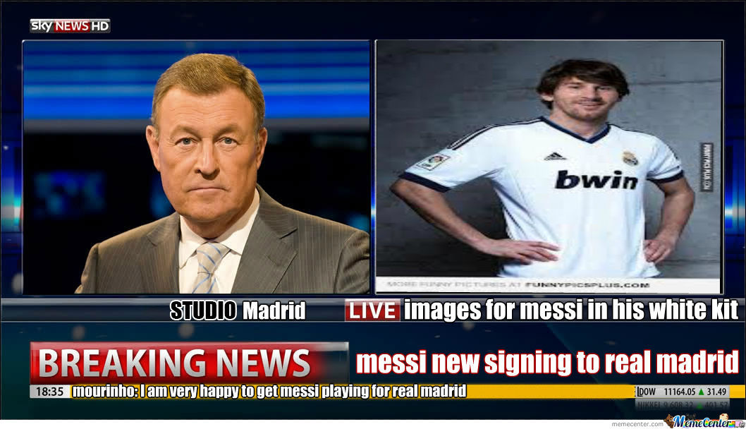 Messi New Signing