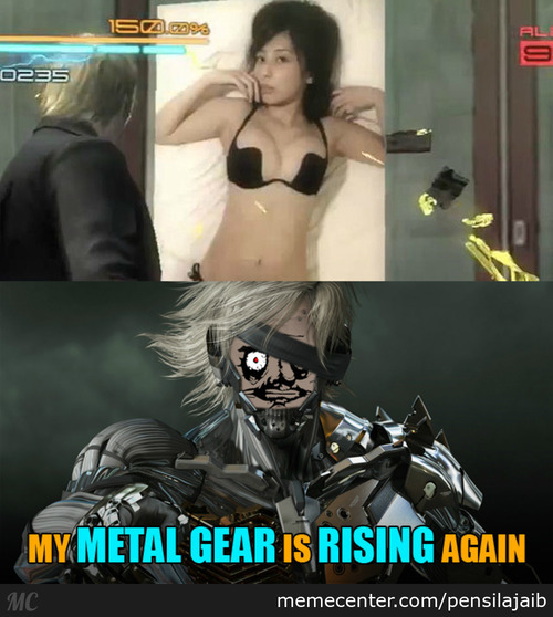 "Metal Gear Rising ""revengeance"""