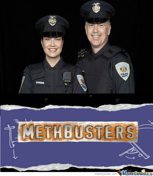 Meth...busted