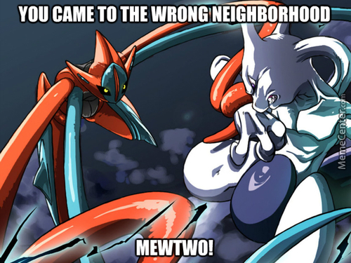 Mewtwo Took A Wrong Turn