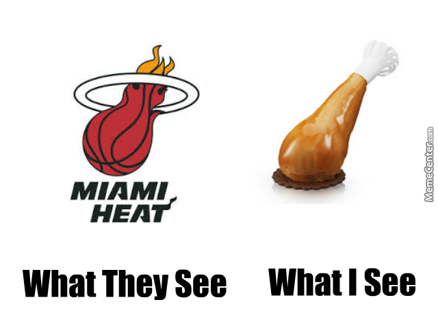 Miami Heats Vs Turkey Leg