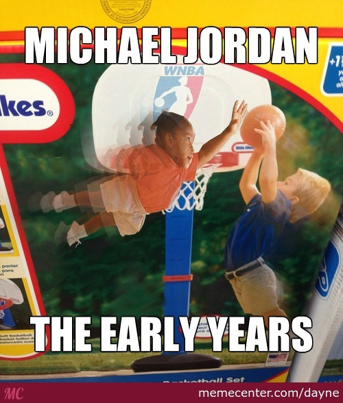 Michael Jordan, The Early Years