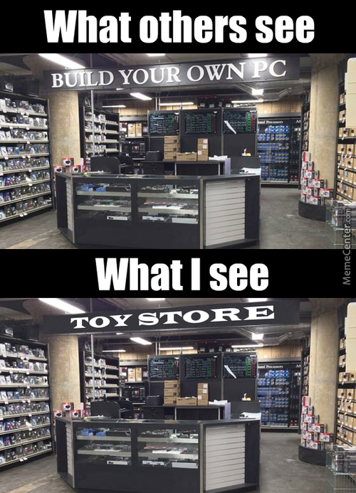 Micro Center Is My Toy Store