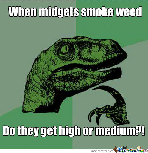 Midgets Smoking Weed