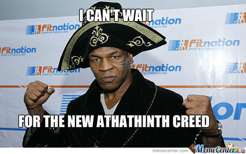 Mike Tyson Can't Wait For The Ac Iv