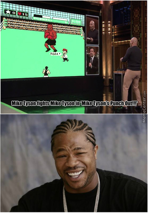 """Mike Tyson Fights Mike Tyson In 'mike Tyson's Punch Out!"""""""