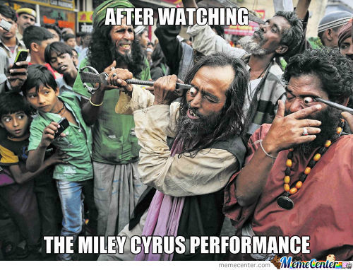 Miley Cyrus Y U Do Dis?!
