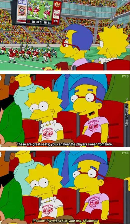 Milhouse You Stupid Mofo