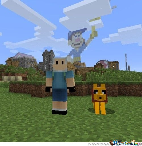 Minecraft + Adventure Time? Sure!